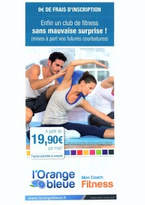 salle de sport fitness musculation romorantin orange bleue
