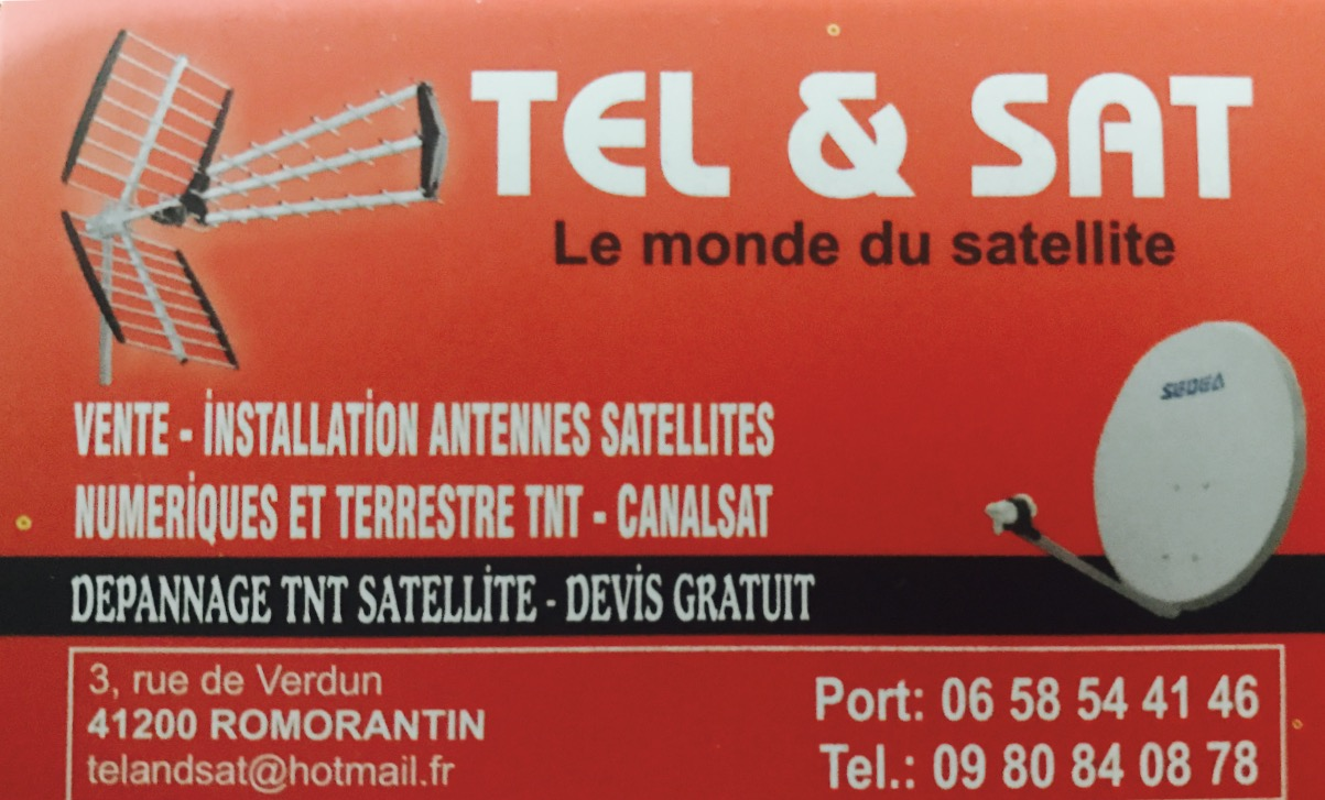 tel and sat installateur antenniste romorantin